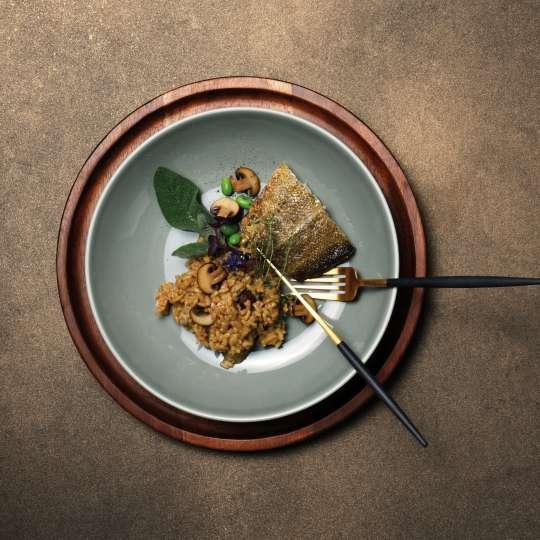 ASA - Kolibri Grau Suppenteller