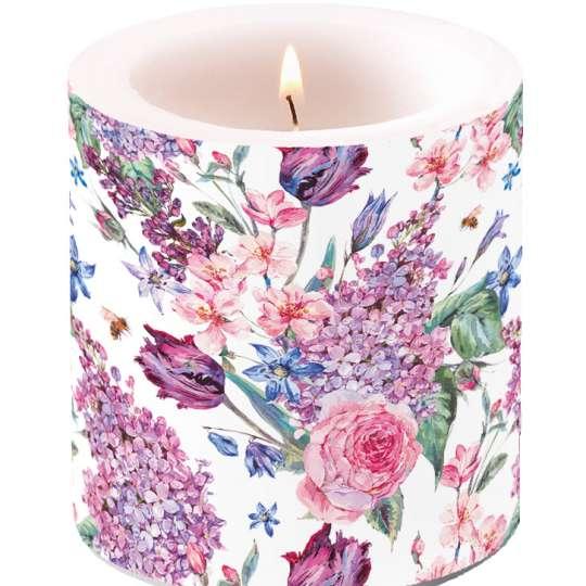 Ambiente Europe Flower Composition Kerze