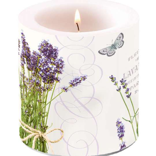 Ambiente Europe Bunch of Lavender Kerze klein - 19211695