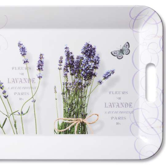 Ambiente Europe Bunch of Lavender Tablett - 13911695