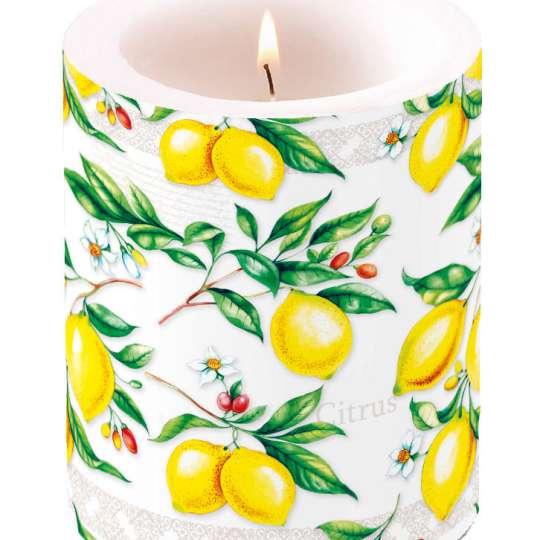 Ambiente Europe Citrus Kerze groß - 19111520