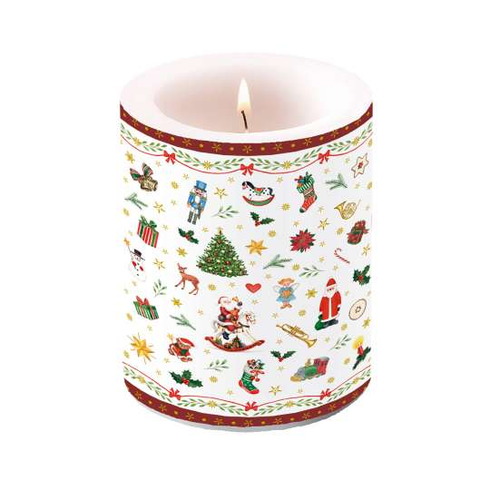 "Ambiete Europe ""Christmas All Over"" Candle"