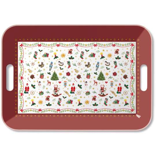 "Ambiete Europe ""Christmas All Over"" Tray gross"