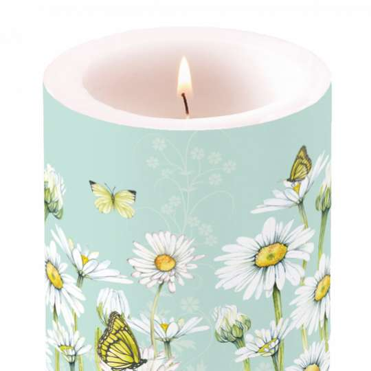 Ambiente Daisy Candle big / Kerze gross 19113920