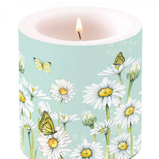 Ambiente Daisy Candle small / Kerze klein 19213920