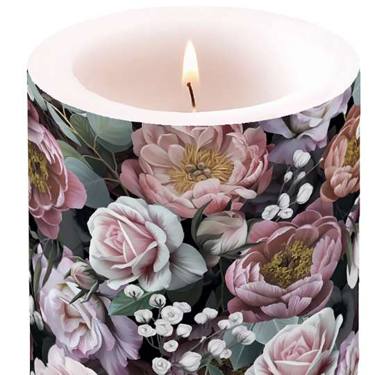 "Ambiente Europe:: Vintage Flowers"" Candle"