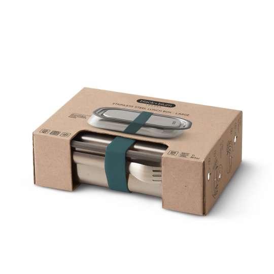 Black und Blum Edelstahl Lunchbox verpackt BAM-SS-L005