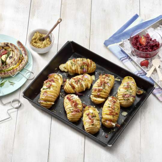 Betty Bossi : Hasselback Potato Tool / Mood Kartoffeln / Backblech