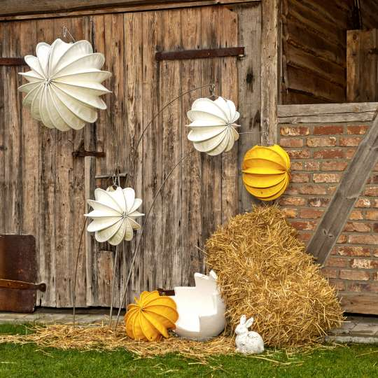 Robuste Outdoor-Lampions / Ostern Tag /  Mood 2