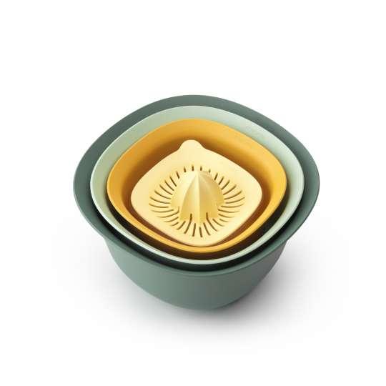 Brabantia Schüssel Set mit Zitronenpresse 8710755122262