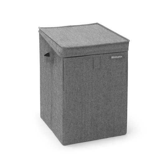 Brabantia Wäschebox stapelbar 35L Pepper Black 8710755120442