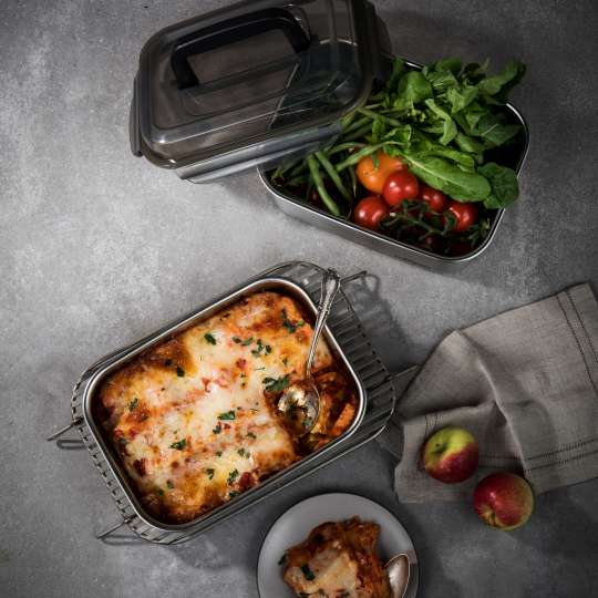 Cuitisan Flora eckig mit Lasagne
