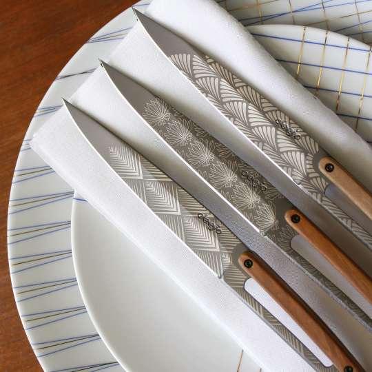 Deejo Steakmesser Art Deco Mood 1