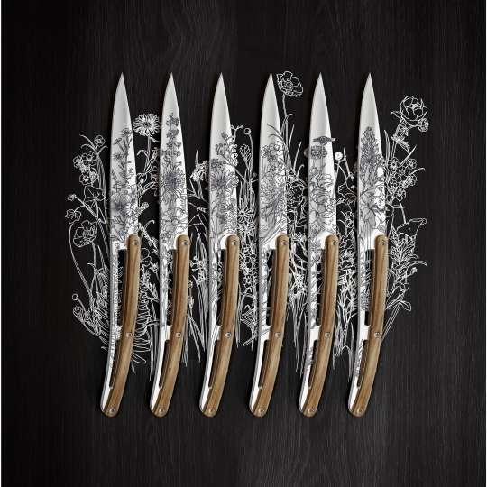 Deejo Steakmesser Blossom Montage