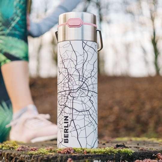Eigenart: Trinkflasche / Dekor 'Berlin