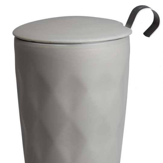 Eigenart TEAEVE Crystal Lux Line Grey Teebecher