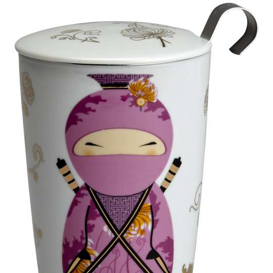 Eigenart Little Family TEAEVE Porzellanbecher Little Ninja Pink - 80012