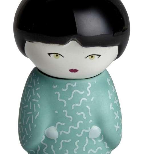 Eigenart Little Family TEAFAN Keramikpüppchen mit integriertem Teesieb Lilly Mint - 60009