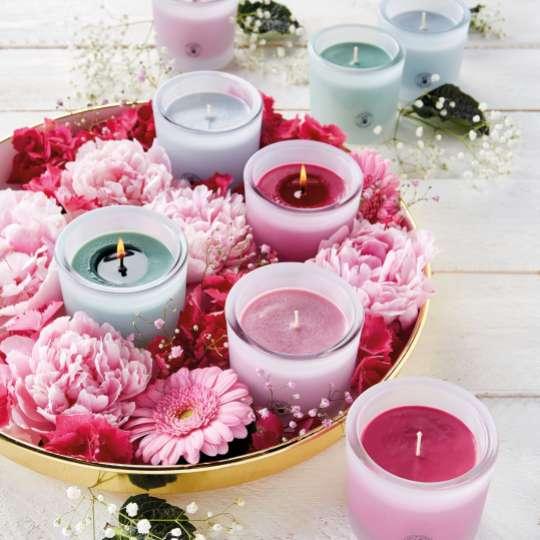 ENGELS KERZEN: Sommerliche Duftkerze CLARA / Mood Blüten