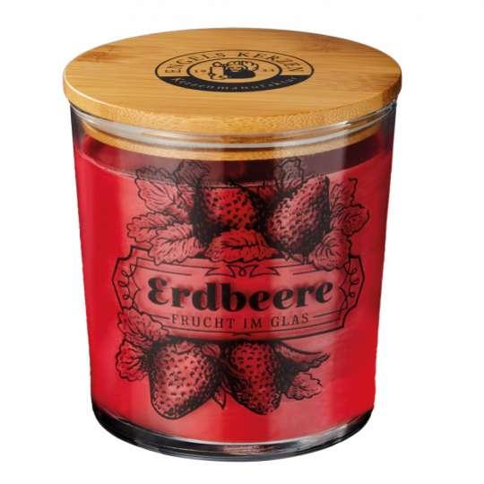 ENGELS Kerzen: Marmeladen-Duftkerze / Erdbeere No. 11