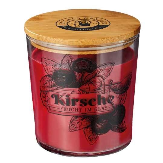 ENGELS Kerzen: Marmeladen-Duftkerze / Kirsche No. 12