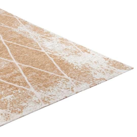 Tom Tailor Flacher Vintage Teppich FINE LINES / 870gold