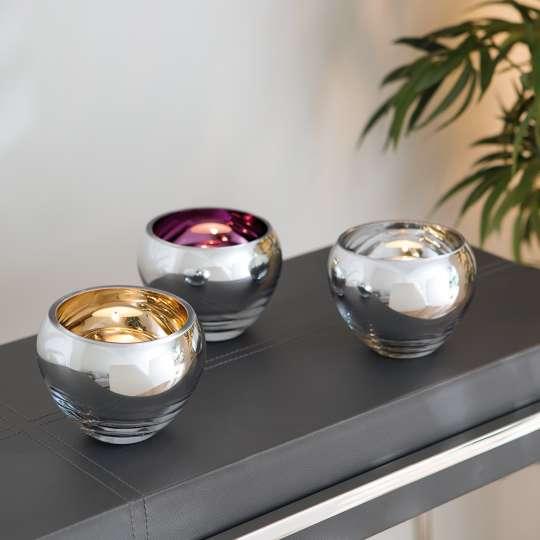 Fink Living Teelichthalter COLORE Milieu