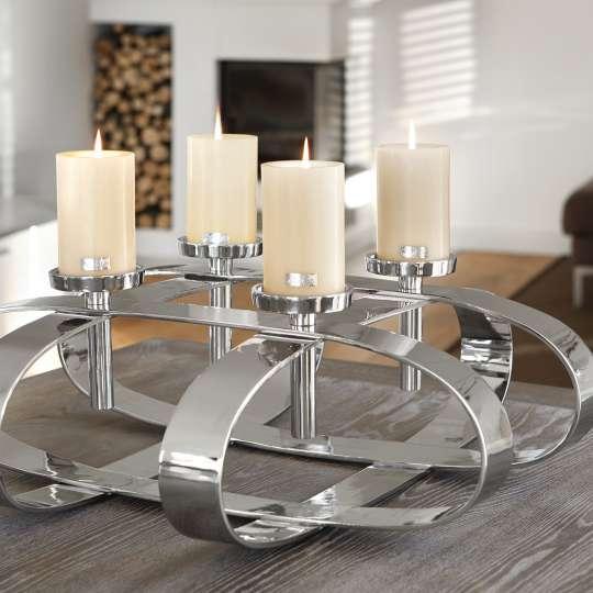 klassisch verspielt oder extravagant adventskr nze trendxpress. Black Bedroom Furniture Sets. Home Design Ideas