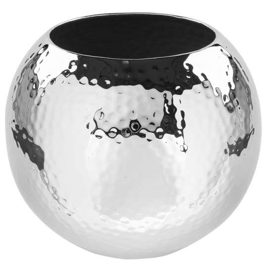 Fink Living MOON / Vase vernickelt, gehämmert 157094