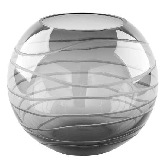 Fink Living MOON / Glasvase mit Schliff 115315