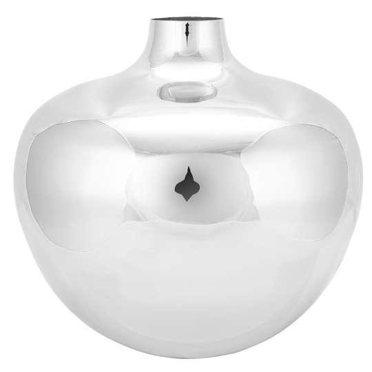 Fink Living PALLAS / Vase, vernickelt 157091