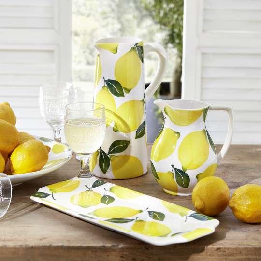 formano - Keramik-Serie mit Zitronen-Dekor