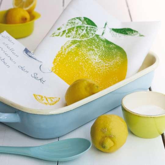 Frohstoff Geschirrtuch Zitrone Mood