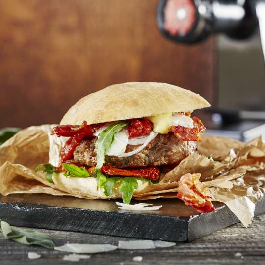 GEFU Italian Style Kalbfleischburger