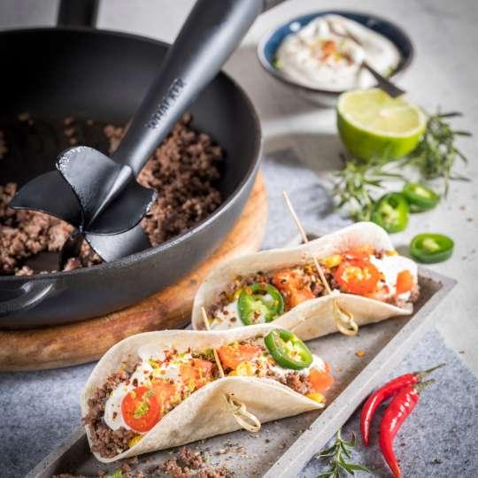 Mexikanische Hackfleisch-Chili-Tacos von GEFU