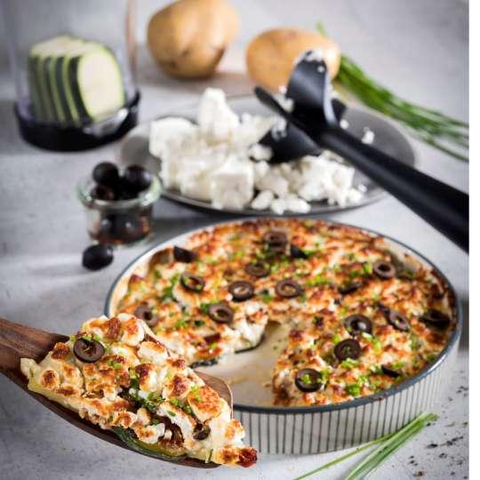 Mediterranes Kartoffel-Zucchini-Gratin von GEFU