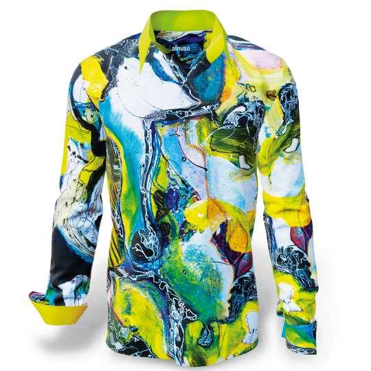 Germens Artfashion: Moderator Kai Ebel trägt GERMENS Hemden - Modell 'Alnuso'