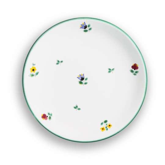 Gmundner Keramik Dessertteller Cup Streublumen 0321TDCU20