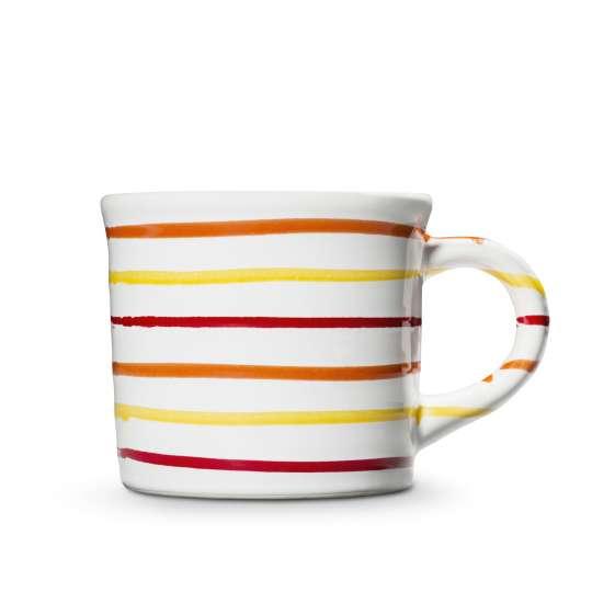 """Kaffebecher """"Coral Living"""" von Gmundner Keramik"""