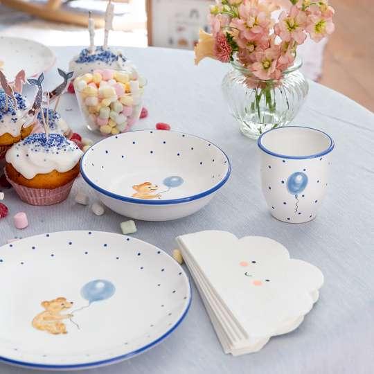 Gmundner Keramik: Kindergeschirr für die Kleinsten / Set 'Baer', Mood
