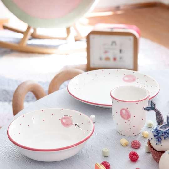 Gmundner Keramik: Kindergeschirr für die Kleinsten / Set 'Ballon', Mood