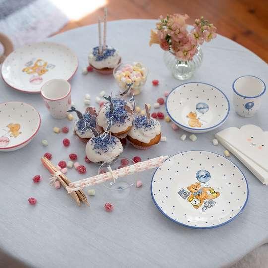 Gmundner Keramik: Kindergeschirr für die Kleinsten / Set personalisiert, Mood