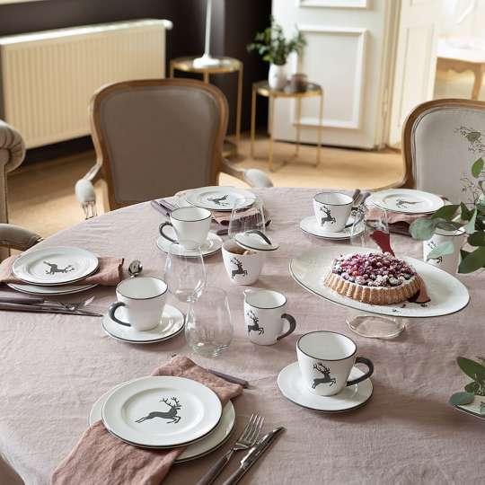 Gmundner Keramik: Muttertag / Grauer Hirsch  - Mood Kaffeetafel