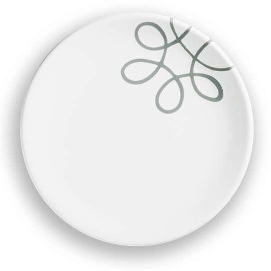 Gmundner Keramik: Graugeflammt und Pudertöne / Dessertteller /0111TDCU20