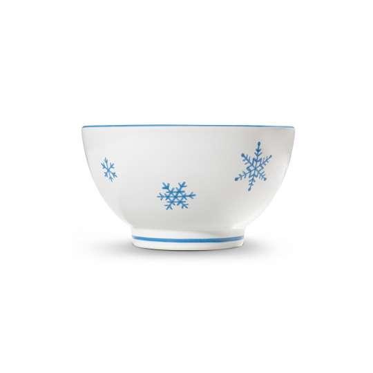 Mueslischale Schneekristall Pur von Gmundner Keramik