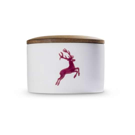 Gmundner Keramik Vorratsdose mit Holzdeckel 0320DORD10