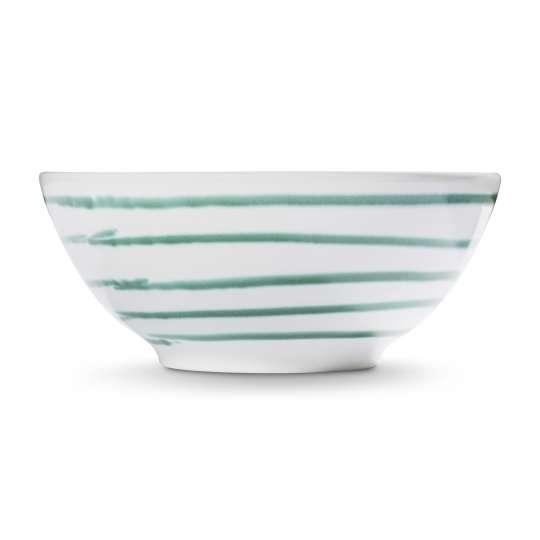 Gmundner Keramik Bowl / Schüssel Grüngeflammt 0100SUSE17