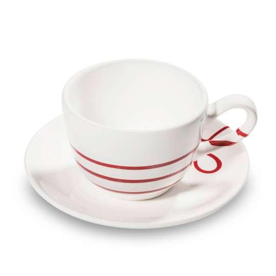 Gmundner Keramik 0110TTCU15SET Kaffeetasse-Unterteller
