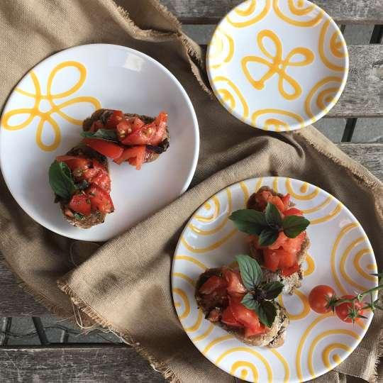 Gmundner Keramik Outdoor Küche Milieu