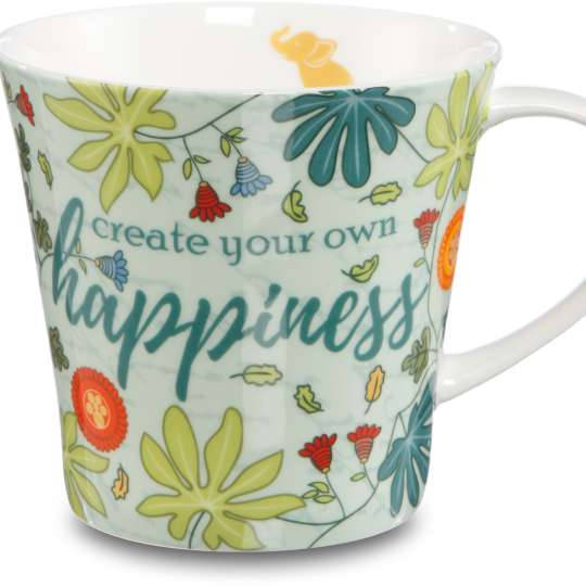 Goebel Coffee-Tea Mug / Henkelbecher Happiness 70000491